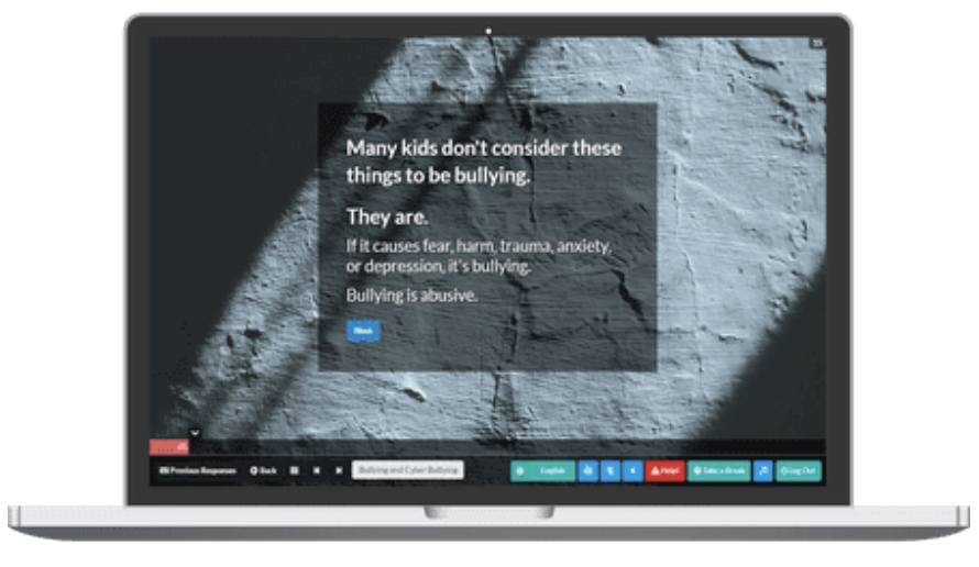 Screenshot os social emotional learning course