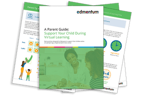Cover of Parent Guide: Support Your Child During Virtual Learning